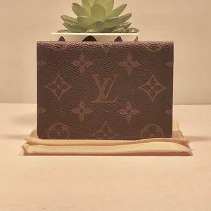 Authentic Louis Vuitton Mono Business Card Wallet